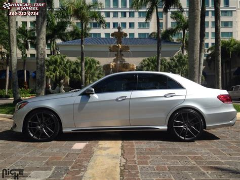 Mercedes E350 Rims by Mercedes E350 Niche Targa M129 Wheels Anthracite