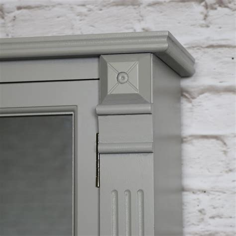 bathroom storage mirrored cabinet grey mirrored bathroom cabinet with drawer storage
