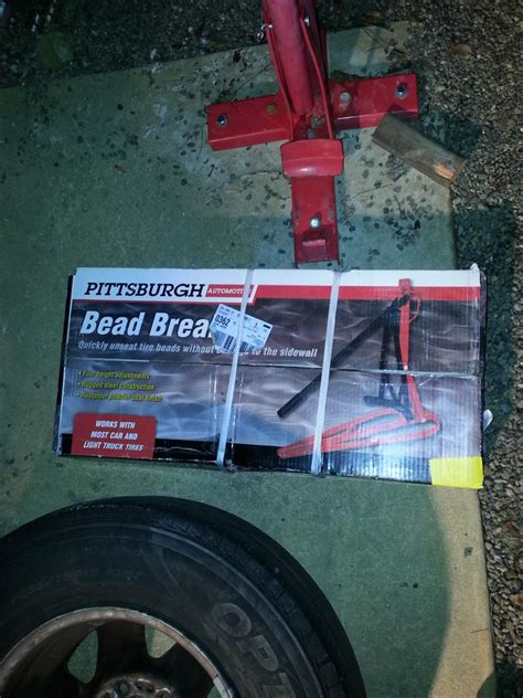 harbor freight bead breaker i and bought the harbor freight pittsburgh bead