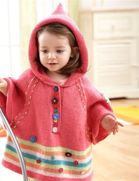 knitted hooded poncho hooded poncho patterns yarnspirations