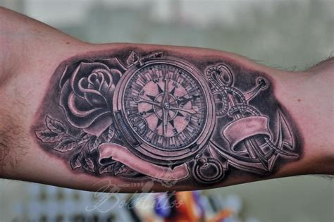 20 awesome anchor and compass tattoo entertainmentmesh