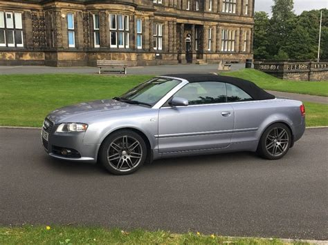 2007 Audi A4 Cabriolet by 2007 Audi A4 Convertible Cabriolet 2 0 Diesel Tdi Not A3