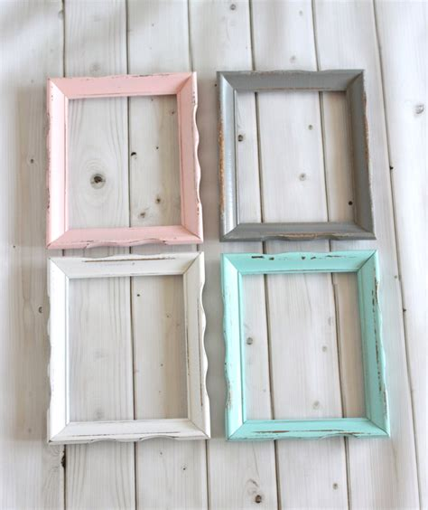 shabby chic picture frames for sale rustic shabby chic frame wood frame curvy wavy wedding baby