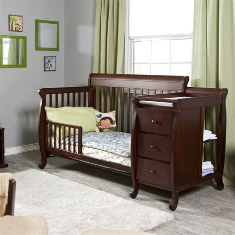 convertible crib with changing table convertible crib and changing table baby fall s room