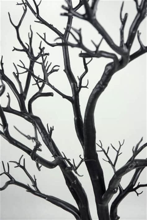 3 foot black tree black manzanita wedding display tree 4 potted
