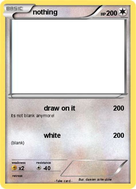 how to card pok 233 mon nothing 359 359 draw on it my card
