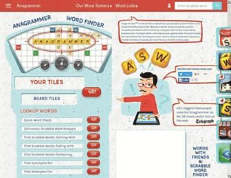 scrabble annagramer scrabble grams solver websites allscrabblewords