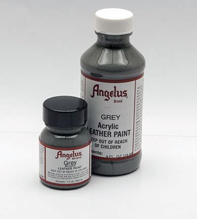 angelus paint grey shoe painting caning