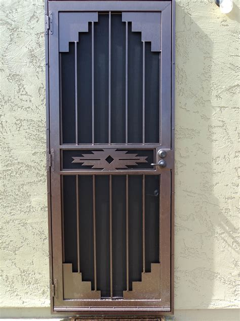 home security front door wrought iron security gate front door nucleus home