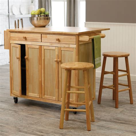 movable kitchen islands with stools belham living vinton portable kitchen island with optional stools at hayneedle