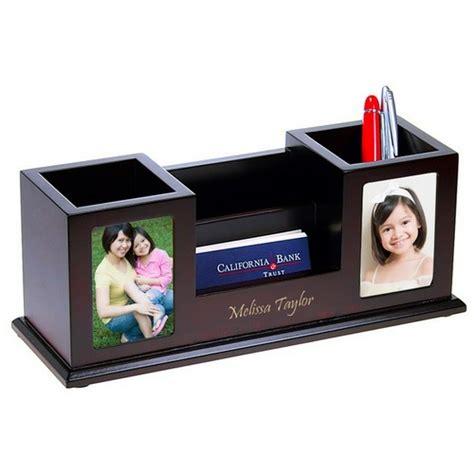 photo desk organizer multi function desk organizer with photo frames