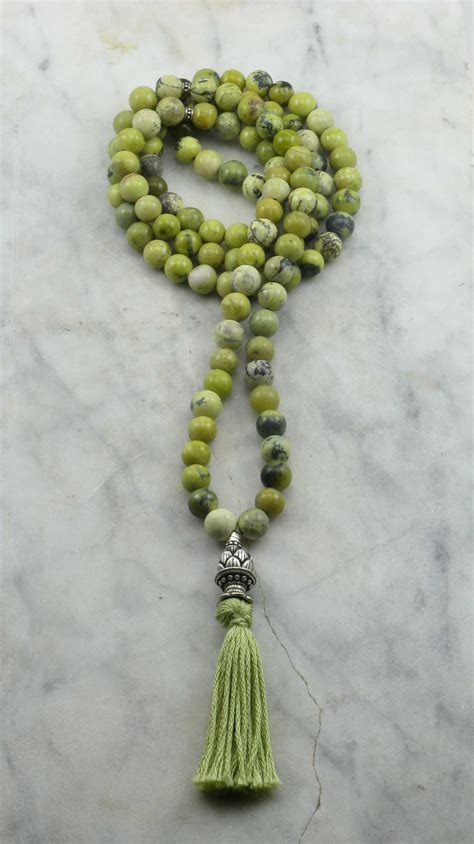 what are mala tender shoots mala 108 yellow turquoise mala