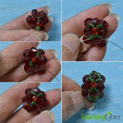 step by step how to make american beaded earrings pandahall tutorial how to make a pair of