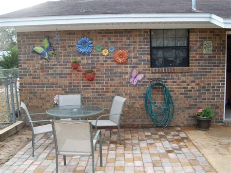 extend patio with pavers extend patio concrete pavers and a shovel no need for a