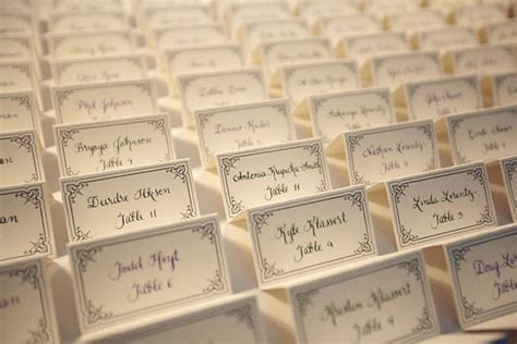 how to make name place cards place card holders ideas for your wedding arabia weddings