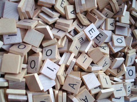 scrabble wooden letters lot of 100 scrabble wood letters arts crafts scrapbooking new