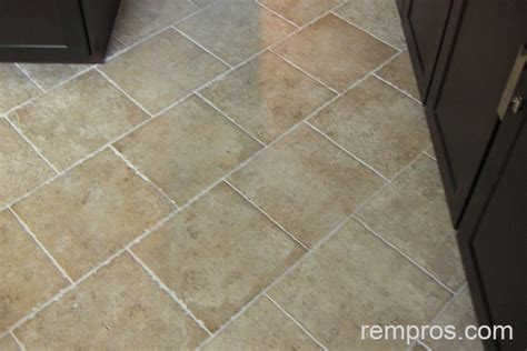 ceramic tile kitchen floor ceramic tile installed on kitchen floor