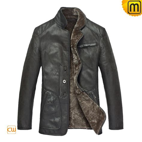 lined leather jacket s fur lined leather coats cw819076