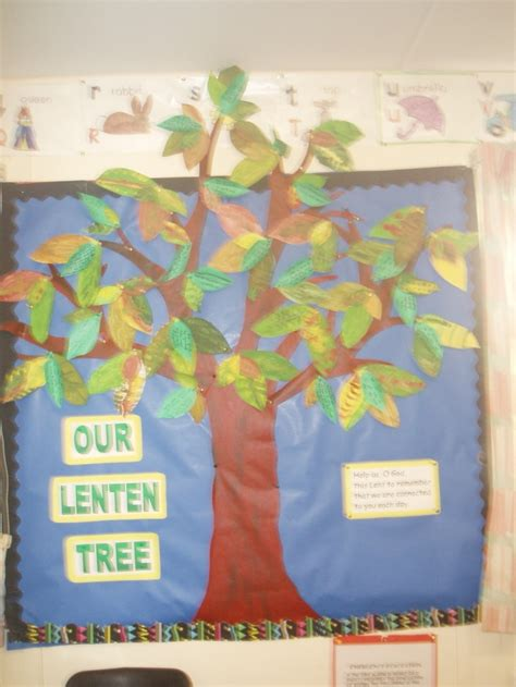 display tree our lenten tree display teaching ideas