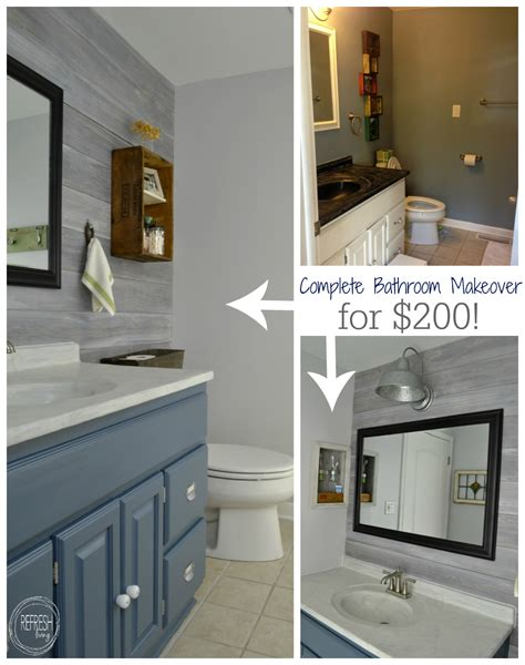 Bathroom Makeovers Cost by Vintage Rustic Industrial Bathroom Reveal Budget