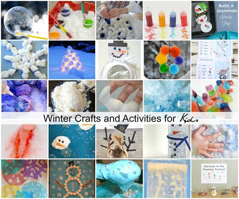 crafts and activities for winter crafts and activities for the idea room