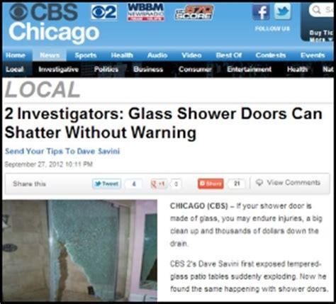 shattered shower door cbs