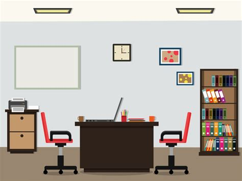 office flat styles background vector 02 vector