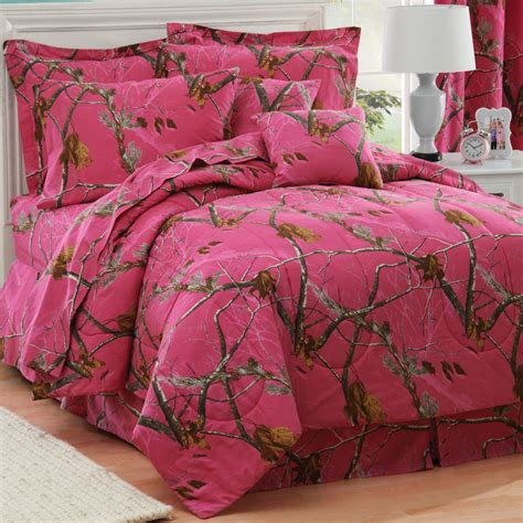 camo bedding set camouflage comforter sets size realtree ap fuchsia