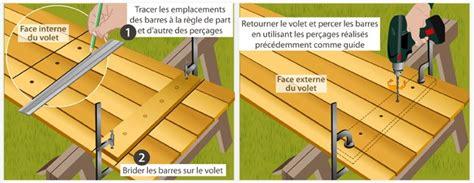fabriquer un volet battant en bois volet