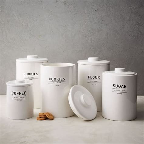 Kitchen Canister utility kitchen canisters west elm