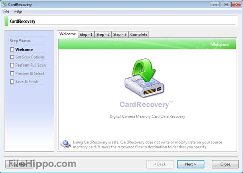 free software for card cardrecovery 6 10 build 1210 filehippo