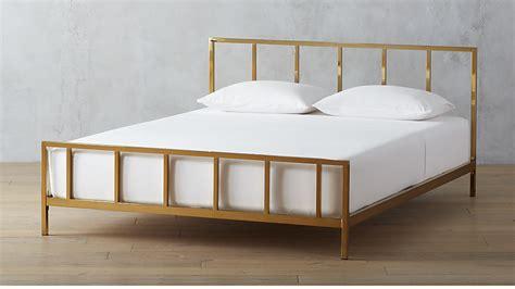 Houzz Home Design Kitchen alchemy bronze bed cb2