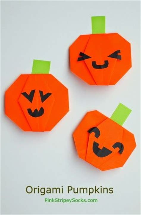 origami pumpkins best 25 origami ideas on images of