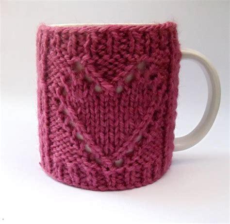 Mug Cosy By Lesleybj Knitting Pattern