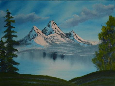 bob ross paintings mountains bob ross mountain landscape paintings bob ross