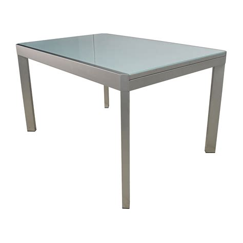 buy glass dining table 86 calligaris calligaris extendable glass dining