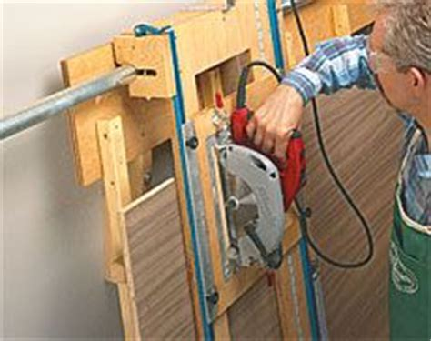 sliding carriage panel saw woodworking plan 1000 images about home diy on panel saw