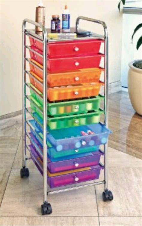 craft paper storage drawers storage cart drawer craft rolling paper organizer