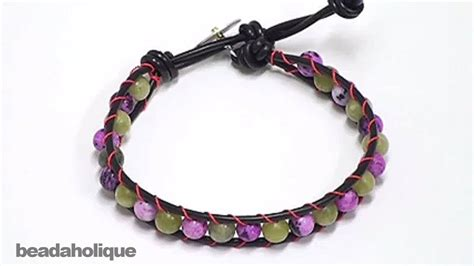how to make jewelry bracelets how to make a chan luu style wrapped bracelet