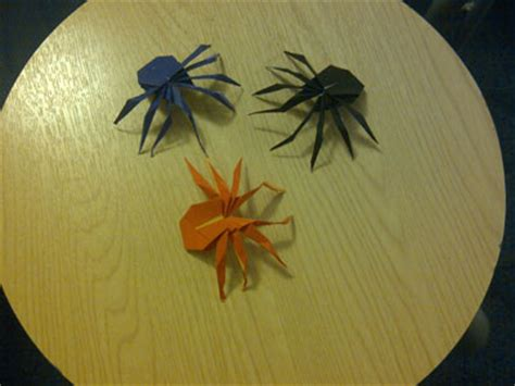 simple origami spider origami spider photos submitted by readers