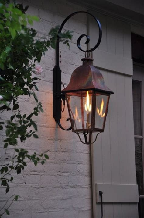 outdoor gas light fixtures 1000 ideas about gas lanterns on exterior