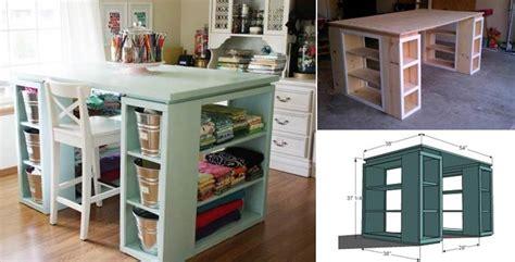 modern craft projects wonderful diy craft table