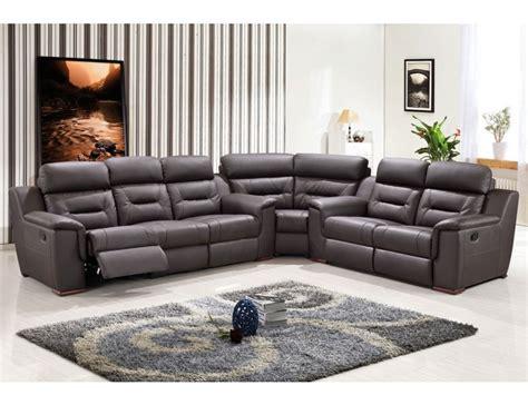 modern leather recliner sofa becky modern recliner sectional sofa