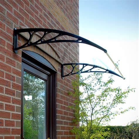 Door Canopy by Door Canopy Opaque Corrugated Awning Shelter Roof Front