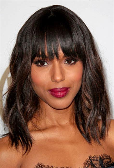 layered medium lenght hair with bangs medium length layered hairstyles 2015