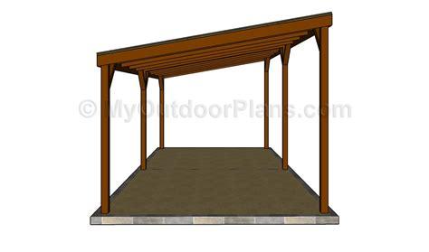 Carport Plans by Carport Plans Myoutdoorplans Free Woodworking