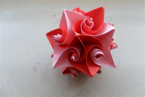 valentines day origami curl origami 3 s theme by fleecyblue on deviantart
