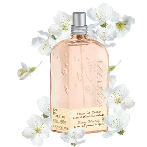 l occitane cherry blossom eau de toilette l occitane pickture