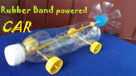 make rubber st at home how to make a rubber band powered car air car