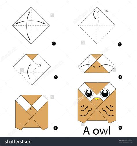 origami step by step for free coloring pages step by step how make